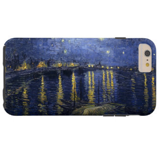Van Gogh's Starry Night Over the Rhone Tough iPhone 6 Plus Case