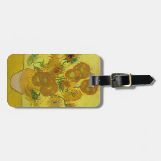 Van Gogh's Sunflowers Luggage Tag