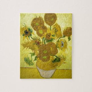 Van gogh's Sunflowers Puzzle