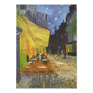 Van Gogh's Terrace Cafe Personalized Invites