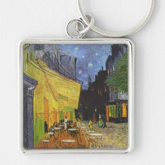 Van Gogh's Terrace Cafe Keychains