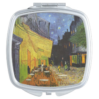 Van Gogh's Terrace Cafe Makeup Mirror