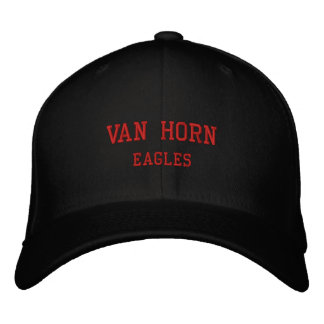 Van Horn Eagles 2012 Seniors Cap Embroidered Hat