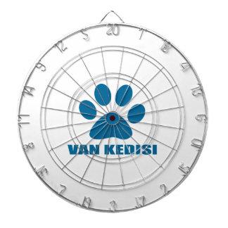 VAN KEDISI CAT DESIGNS DARTBOARD