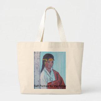 Van Miller Self Portrait Tote Bag