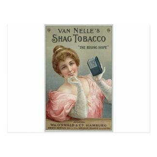Van Nelle's Shag Tobacco 1905 Postcard