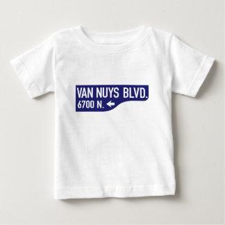 Van Nuys Boulevard, Los Angeles, CA Street Sign Baby T-Shirt