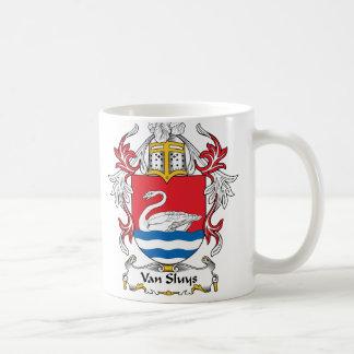 Van Sluys Family Crest Coffee Mug