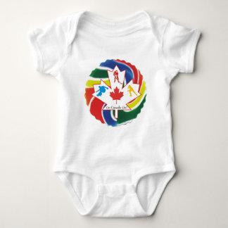 Vancouver 2010 Winter Olympics Baby Bodysuit