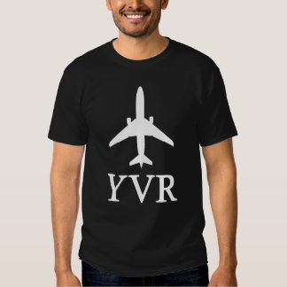 Vancouver Airport Code T-shirt