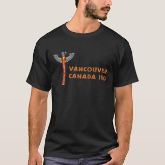 Vancouver (BC) Canada - Totem Pole T-Shirt