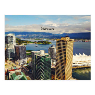 Vancouver, BC Cityscape Postcard