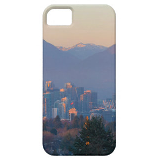 Vancouver BC Downtown Cityscape at Sunset Panorama iPhone 5 Cases
