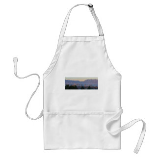Vancouver BC Downtown Cityscape at Sunset Panorama Standard Apron