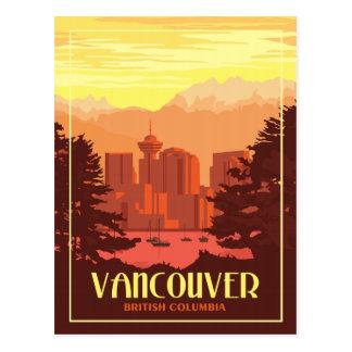 Vancouver BC - Vintage Travel Postcard