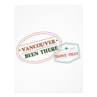 Vancouver Been there done that Letterhead