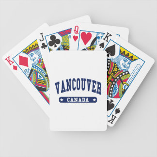 Vancouver Bicycle Playing Cards