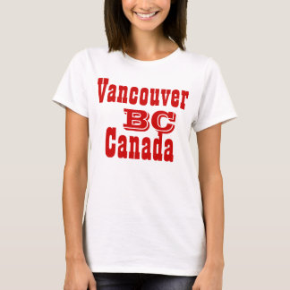 Vancouver british columbia Canada T-Shirt