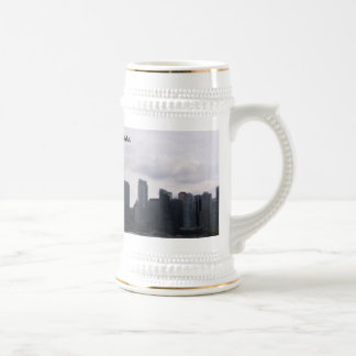 Vancouver, Canada Beer Stein