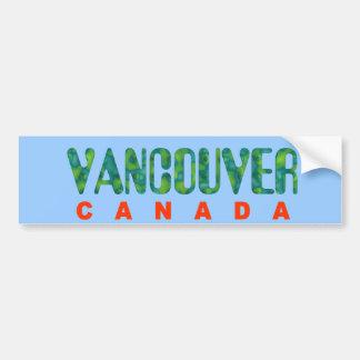 Vancouver Canada Bumper Sticker