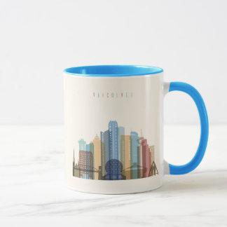 Vancouver, Canada | City Skyline Mug