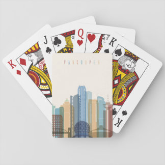 Vancouver, Canada | City Skyline Playing Cards