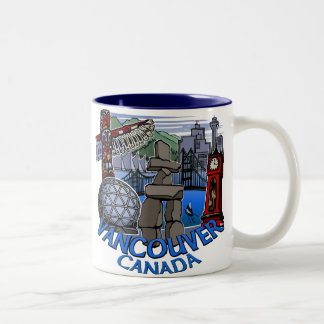 Vancouver Canada Coffee Cups Mugs & Glasses