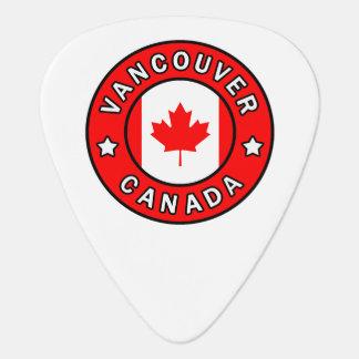 Vancouver Canada Guitar Pick