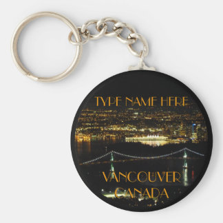 Vancouver Canada Key Chain Personalized Souvenirs
