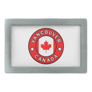 Vancouver Canada Rectangular Belt Buckle