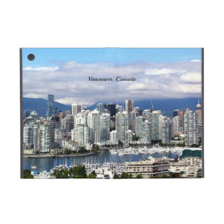 Vancouver Canada Skyline Cover For iPad Mini
