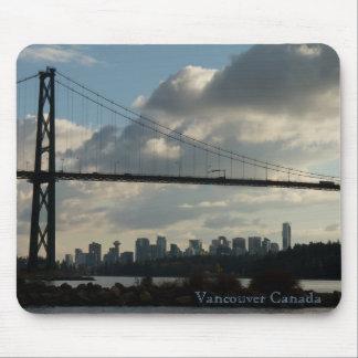 Vancouver Canada Souvenir Mouse Pad Vancouver Gift