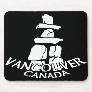 Vancouver Canada Souvenir Mousepad Inukshuk