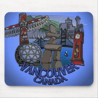 Vancouver Canada Souvenir Mousepad Landmark Gifts