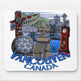 Vancouver Canada Souvenir Mousepad Vancouver Gifts