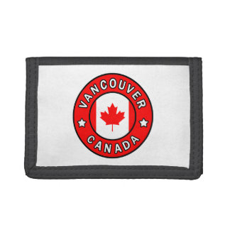 Vancouver Canada Trifold Wallet