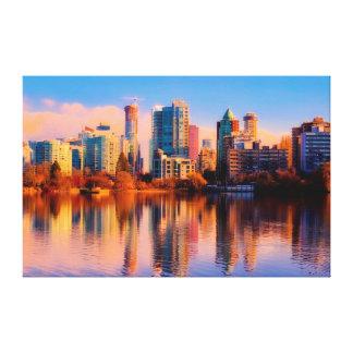 Vancouver Cityscape Canvas Print