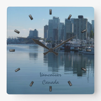 Vancouver Clock Personalized Vancouver Wall Clock