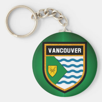 Vancouver Flag Keychain