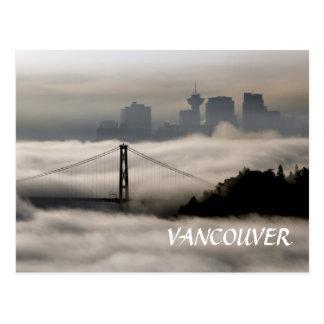 Vancouver Fog Postcard