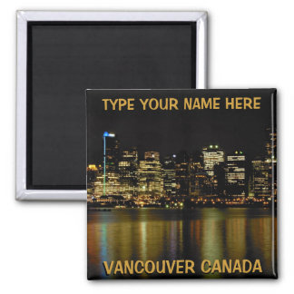 Vancouver Fridge Magnets Personalized Souvenir