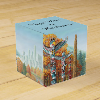 Vancouver Gift Box Personalized Totem Gift Boxes Wedding Favor Box