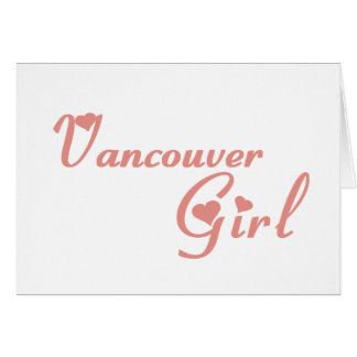 Vancouver Girl Card