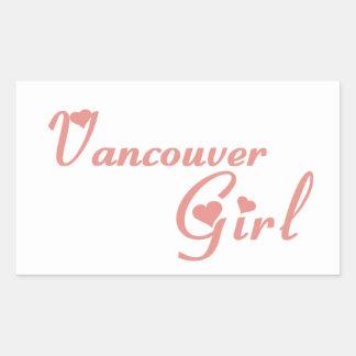 Vancouver Girl Sticker