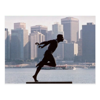 Vancouver - Harry Jerome Statue Postcard