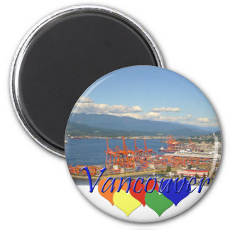 Vancouver Hearts Magnet