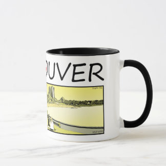 Vancouver Illustration - English Bay Mug