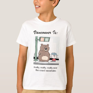 Vancouver Is: c - by harrop T-Shirt