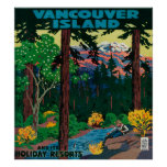 Vancouver Island Advertising Poster