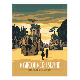 Vancouver Island - Vintage Travel Postcard